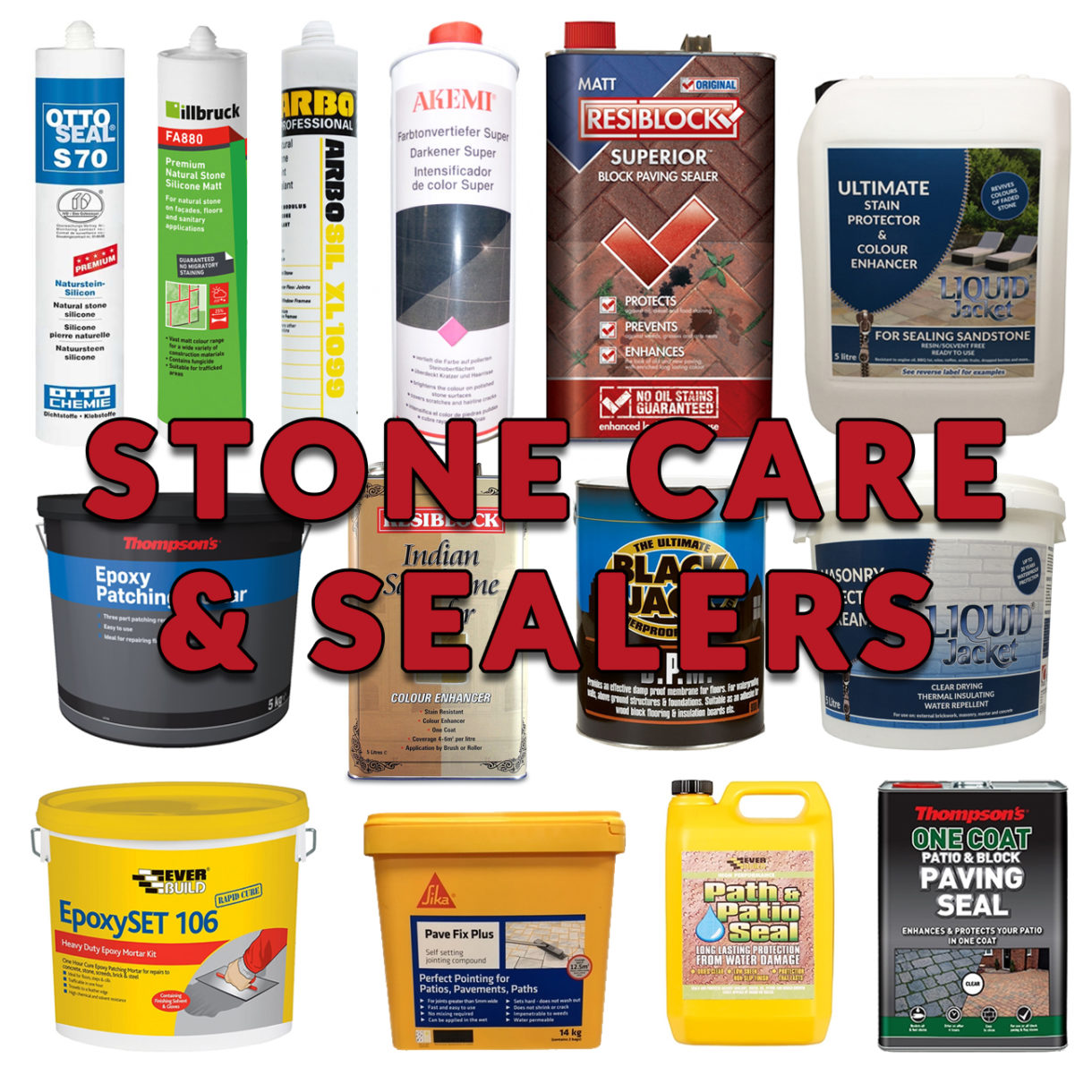 STONE CARE & SEALERS
