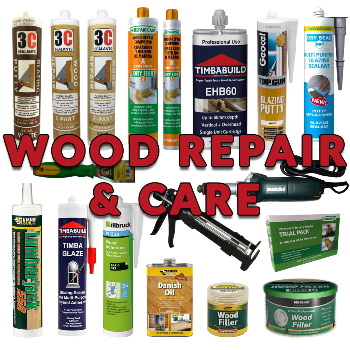 WOOD REPAIR & CARE