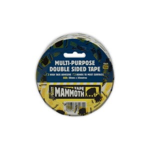 Multi purpose double sided tape