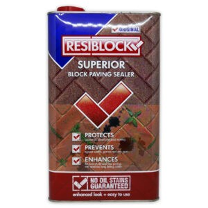 resiblock superior block paving sealer