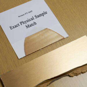 Exact physical sealant match