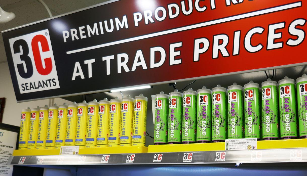 3C Sealants Product Range
