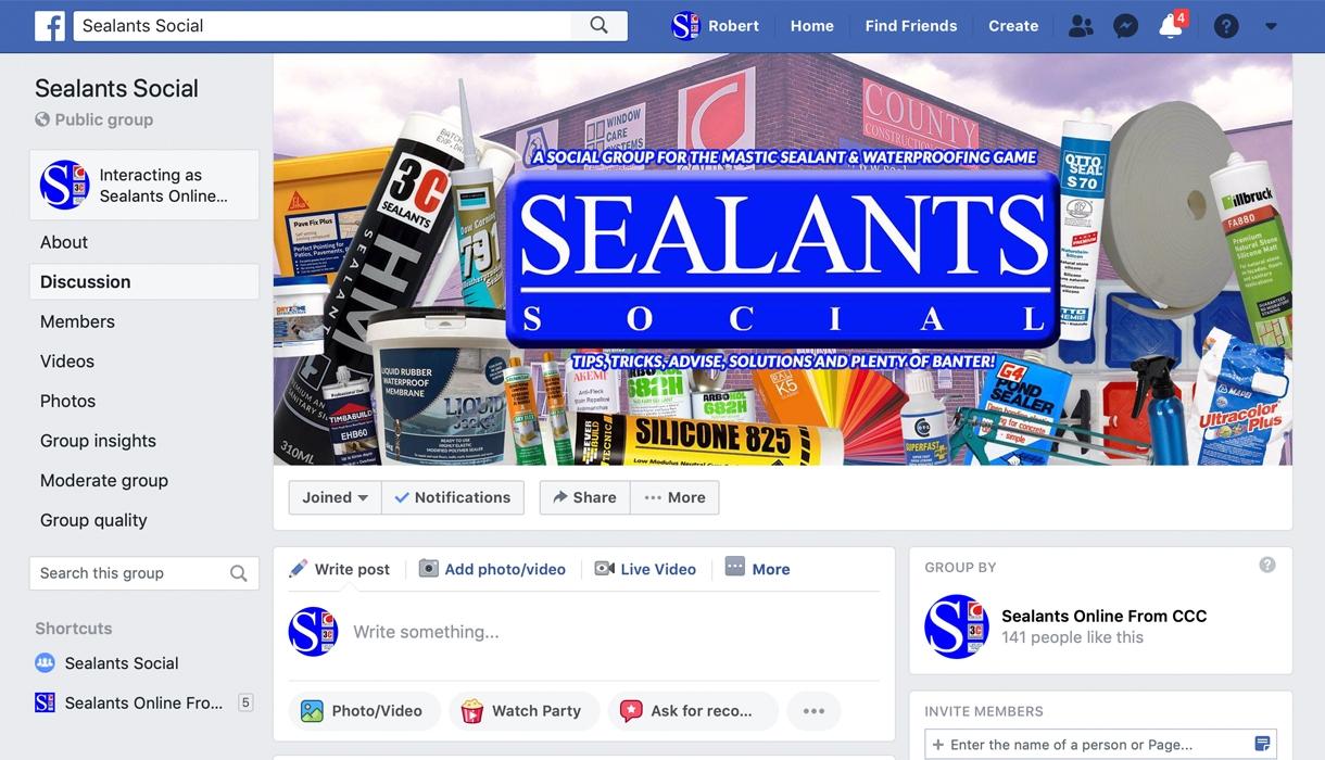 Sealants Social